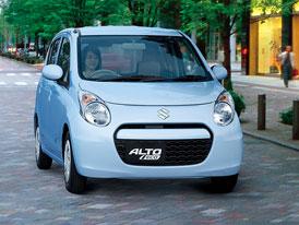 Suzuki Alto Eco: Zážehový tříválec se spotřebou 3,1 l/100 km