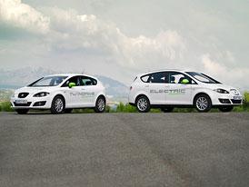 Video: SEAT Altea XL Electric Ecomotive a Leon TwinDrive Ecomotive v pohybu i staticky