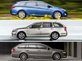 Hyundai i40 vs Škoda Octavia vs Škoda Superb: Co koupit?