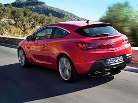 Opel Astra GTC: Třídveřová Astra začíná na 376.900,- Kč
