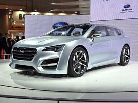 Subaru Advanced Tourer Concept: Pokrokový hybridní cestovatel