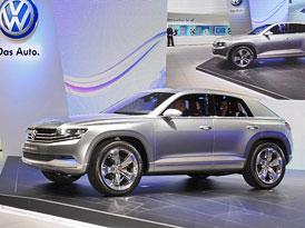 Volkswagen Cross Coupé: Budoucnost Tiguanu v Tokiu