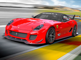 Vzácné Ferrari 599XX pomůže zaplatit škody po zemětřesení