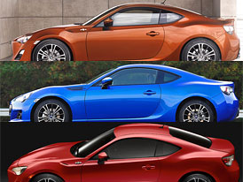 toyota gt86 vs subaru brz vs scion fr s designov trojboj. Black Bedroom Furniture Sets. Home Design Ideas