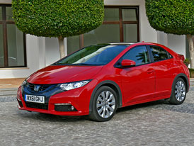 Honda Civic 2012: První jízdní dojmy