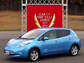 Japan Car of the Year 2011/2012: Nissan Leaf