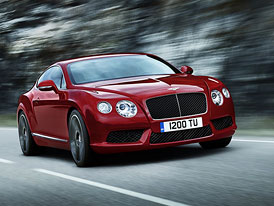 Bentley Continental GT a GTC V8: Dvě turba a 373 kW