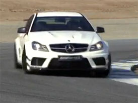 Video: Mercedes-Benz C 63 AMG Black Series – Jízda na okruhu