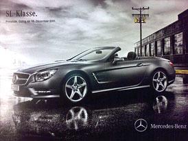 Mercedes-Bez SL: Nov� generace bez kamufl�e