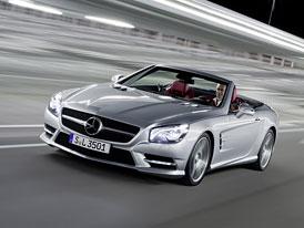 Mercedes-Benz SL 350 a 500 (2012): Oficiální data i ceny