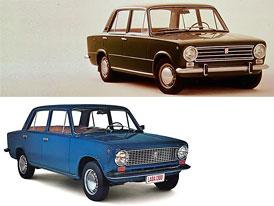 Fiat 124, Lada 2101, 2105, 2107 - Design po generac�ch (s italsk�mi impulzy)