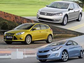 NACOTY 2012: Finalisté amerického auta roku