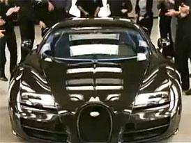 Bugatti Veyron Super Sport Edition Merveilleux: Karbon k narozeninám