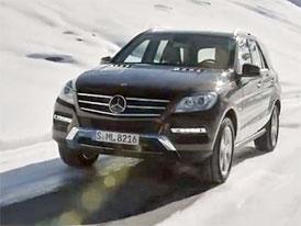 Video: Mercedes-Benz M � J�zda s t�et� generac� nejen na sn�hu