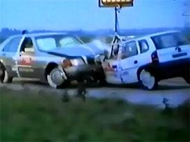 Historie crash-testů: Mercedes-Benz třídy S (W140)