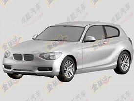 BMW 1: Číňané prozradili třídveřovou verzi