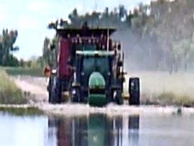 Brodící videoseriál (6.díl): Lekce brodění s traktorem