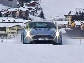Video: Aston Martin – Britští sportovci na ledu a sněhu