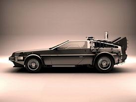 DeLorean DMC-12: Stroj času vydražen za 541.200 dolarů