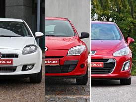 Fiat, PSA a Renault očekávají složitý rok 2012