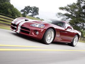 SRT Viper: Nová Zmije se vzdá jména Dodge