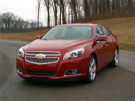 Video: Chevrolet Malibu – Prohlídka exteriéru i interiéru