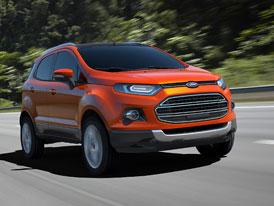 Ford EcoSport: Nástupce Fusionu se představí v Dillí (video)