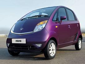 Tata Nano: CNG a luxus v Dillí