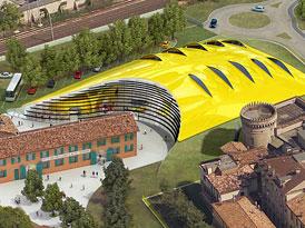 V Moden� se slavnostn� otv�r� Ferrariho muzeum od Jana Kaplick�ho