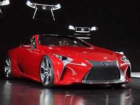 Lexus LF-LC: Stylový koncept oficiálně