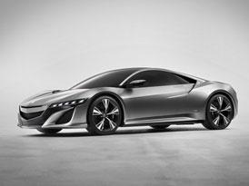 Acura NSX Concept: Supersport se slavným jménem nově jako hybrid
