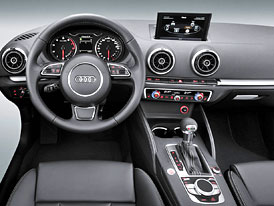 Nová generace Audi A3 se odhaluje. Prozatím zevnitř.