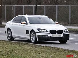 BMW 7 (F01):  Jemné retuše se představí zřejmě v Šanghaji