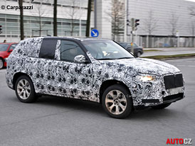 Spy Photos: BMW X5 (F15) - Třetí vydání shodí 150 kg