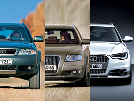Design po generacích: Audi A6 Allroad – Když běžné kombi nestačí