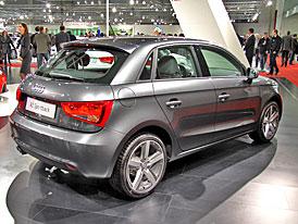 Audi A1 Sportback: První statické dojmy