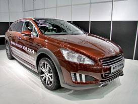 Peugeot 508 RXH: První statické dojmy