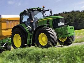 Český trh v roce 2011: Zaregistrováno 2.757 nových traktorů, vede John Deere