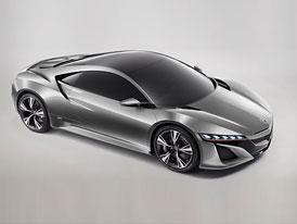 Video: Acura NSX Concept  s Hondou NSX v akci