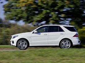 Mercedes-Benz ML 63 AMG má pod kapotou motor 5,5 V8 (386 kW)