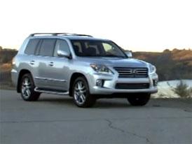 Video: Lexus LX 570 – Luxusní SUV s modernizovaným kabátem