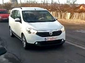 Dacia Lodgy nafilmována při testování (video)