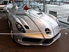Mercedes SLR Stirling Moss: Na měsíc v Praze