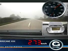 G-Power BMW M5 Hurricane RS: Jízda po dálnici rychlostí 357 km/h (video)