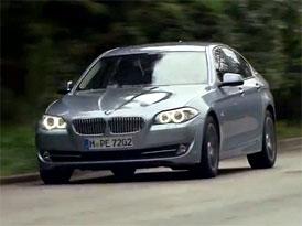 Video: BMW ActiveHybrid 5 - Jízda i statické představení