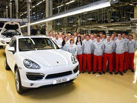 Porsche Cayenne 2. generace: Již 100 000 vyrobených kusů