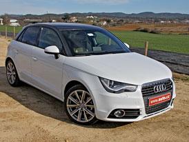 Audi A1 Sportback 1,4 TFSI (103 kW): Jízda na dva válce