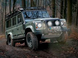 Land Rover Defender Blaser Edition: Na lov stylov�