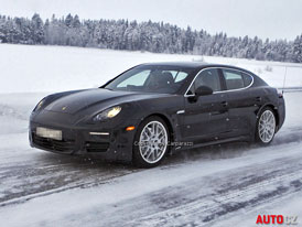 Porsche Panamera (2013): Facelift ve stylu 911