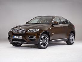 BMW X6 facelift: Diodové světlomety, nové barvy a superdiesel (280 kW, 740 Nm)